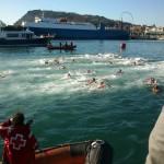 Christmas Day polar bear swim...16 degrees C, hardly polar bear worthy!