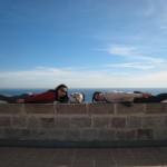Planking goes Spanish-  Castell de Montjuic