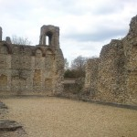 Wolvesey Castle in ruins