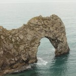 Durdle Door- too bad it was cloudy :(