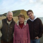 M with his grandparents