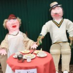 Tea for two scarecrows