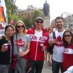 The Canadian crew