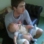 M and his baby cousin