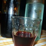Ending the night off with mirto and grappa (aka poison)