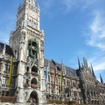 The New Town Hall in Marienplatz