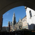View of Marienplatz