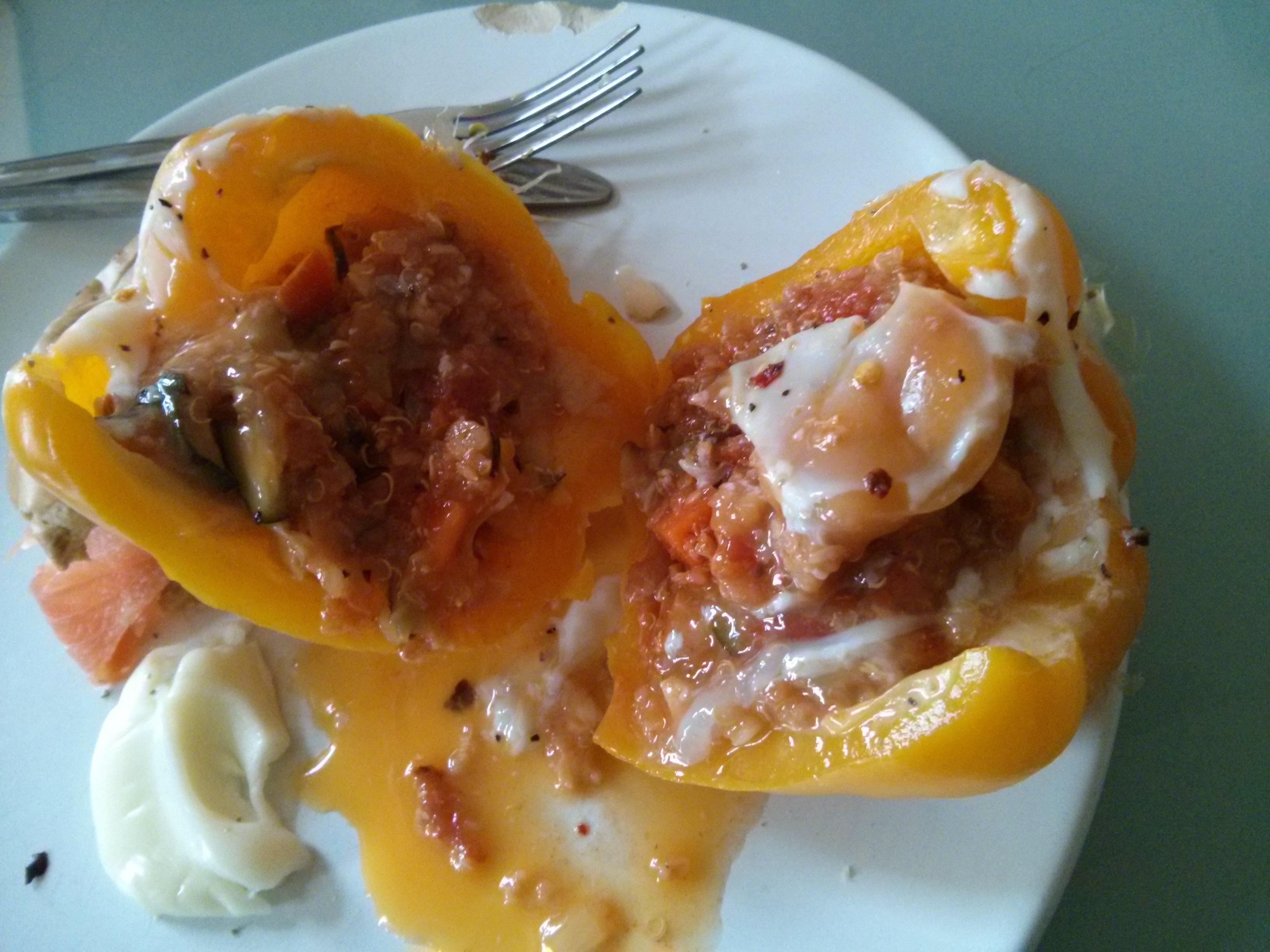 Runny yolk, just the way I like it!