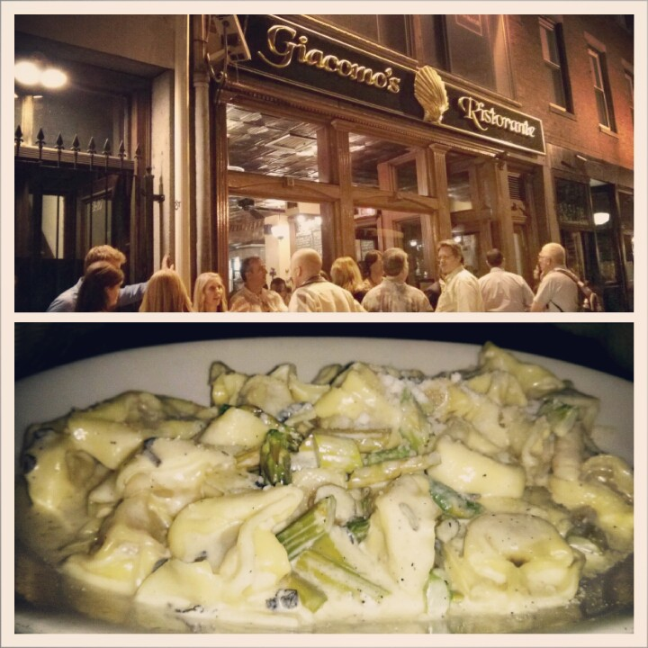 Giacomo's in North Boston - best pumpkin ravioli out there!