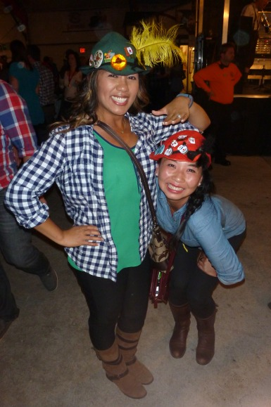 The shortie and I - Oktoberfest 2013