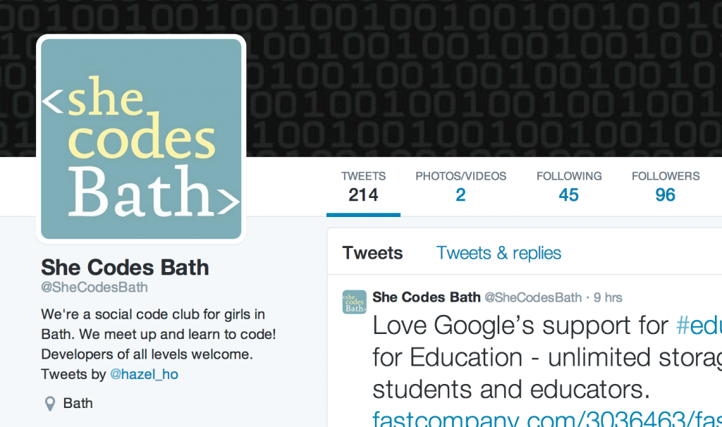 The number of followers is more than double who I'm following - huzzah!